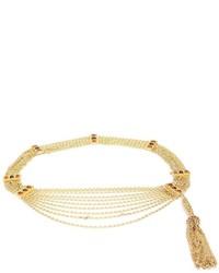 Vintage muti strand gripoix chain belt medium 955479
