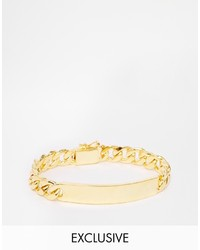 Reclaimed Vintage 90s Id Bracelet