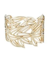 Kenzo Bamboo Bracelet Gold Coloured