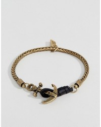 Icon Brand Chain Bracelet In Gold