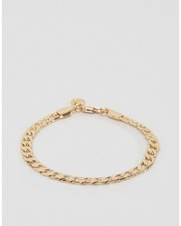 Chained Able Curb Chain Bracelet In Gold