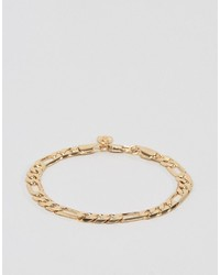 Chained Able Royal Figaro Chain Bracelet In Gold