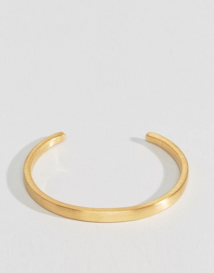 Seven London Cuff Bracelet In Gold