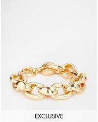 Asos Designsix Chunky Bracelet To
