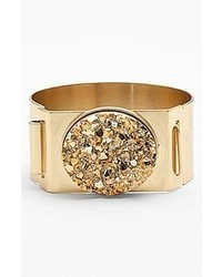 Leith Drusy Cuff Burnished Gold