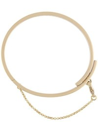 Eddie Borgo Extra Thin Safety Chain Bracelet