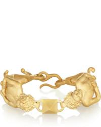 Valentino Gemini Gold Tone Bracelet