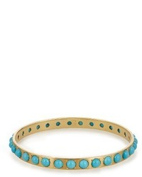 Irene Neuwirth Turquoise Yellow Gold Bangle