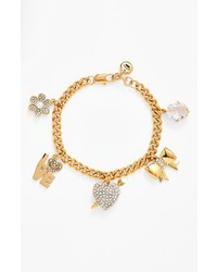Juicy Couture Juicy At Heart Charm Bracelet