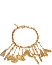 Chloé Keira Gold Plated Charm Bracelet One Size
