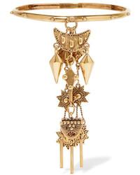 Chloé Layton Gold Tone Charm Bracelet Sm