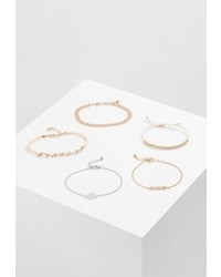 Only Onlbetty 5 Pack Bracelet Gold Coloured