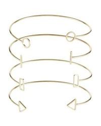 Only Onlraviola 4 Pack Bracelet Gold Coloured