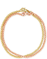 Carolina Bucci Set Of Two 18 Karat Gold Bracelets One Size