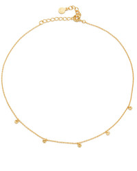 Gorjana 5 Disc Choker Necklace