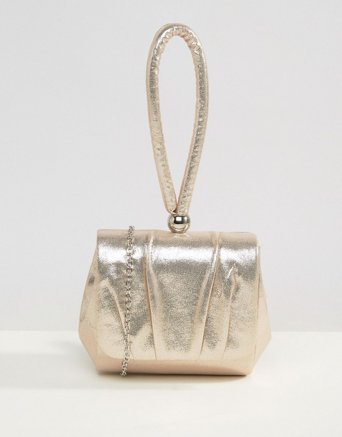 outlet top-rated original the cheapest £28, True Decadence Rose Gold Wristlet Clutch