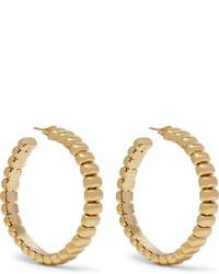 Rosantica Atena Gold Tone Hoop Earrings One Size