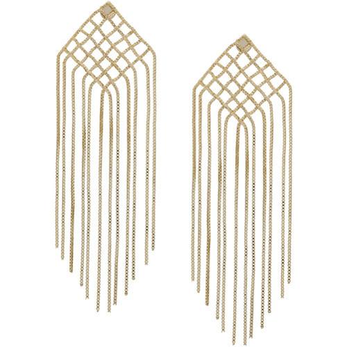 Rosantica Fringed Drop Earrings