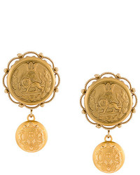 Dolce & Gabbana Galvanized Earrings