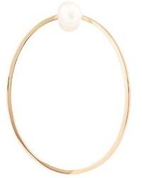 Delfina Delettrez Pearl Pink Gold Medium Earring