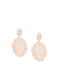 Aurelie Bidermann Vintage Lace Clip On Earrings