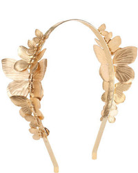 Eugenia Kim Hats Venus Butterfly Cocktail Headband Gold