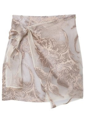 Mango Wrap Skirt Gold