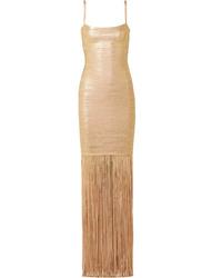 d4b03d6a Women's Gold Dresses by Herve Leger | Women's Fashion | Lookastic UK