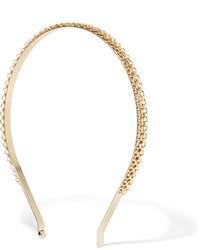 Rosantica Bismark Gold Tone Headband One Size