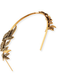 Oscar de la Renta Crystal Spike Tiara Headband