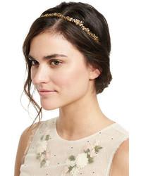 Jennifer Behr Headpieces Arden Metal Bandeaux Headband