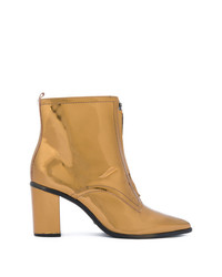 Schutz Metallic Boots