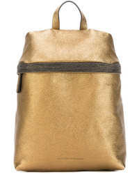 Brunello Cucinelli Metallic Backpack