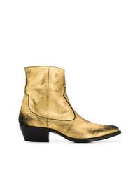 Amiri Western Metallic Boots