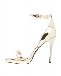 Versace High Heeled Sandals Oro