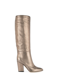 Sergio Rossi Virginia Metallic Boots