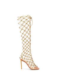Francesco Russo Fishnet Boots