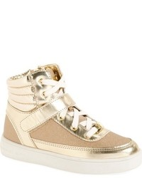 MICHAEL Michael Kors Girls Michl Michl Kors Ivy M High Top Sneaker
