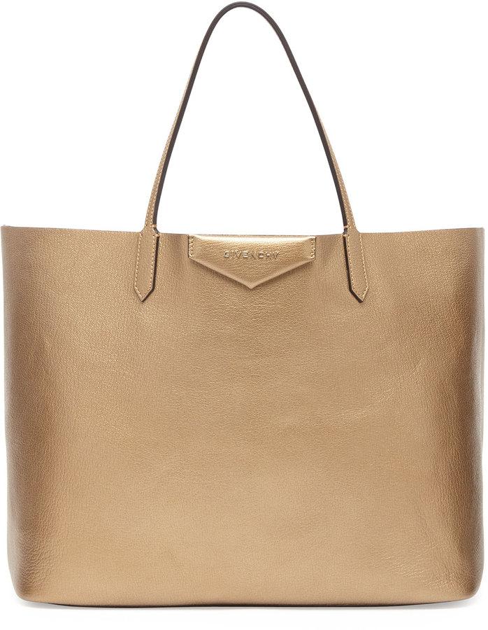 Givenchy Antigona Large Leather Shopping Tote Golden, £1,376 ... db803af91e
