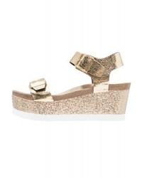 Marsala wedge sandals gold medium 4059682
