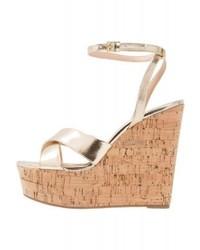 Picky wedge sandals gold medium 4276823