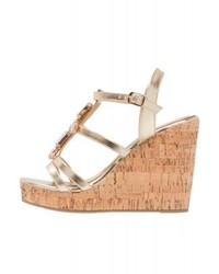 Wedge sandals gold medium 4278595
