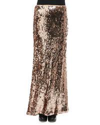 Gold Maxi Skirt