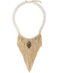 Iosselliani Burma Fringe Necklace