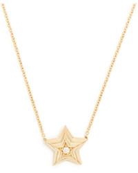 Delfina Delettrez Diamond Yellow Gold Necklace