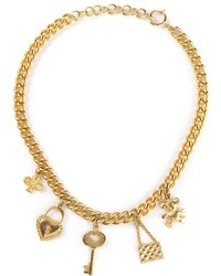 Moschino Vintage Charm Necklace