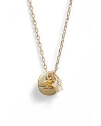 Marc Jacobs Coin Pendant Necklace