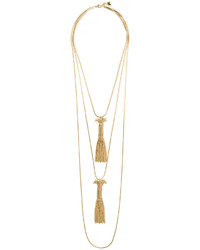 Double tassel pendant necklace medium 5054242