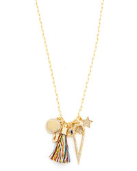 Rebecca Minkoff Traveler Charm Necklace
