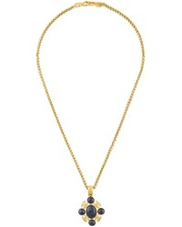 Chanel Vintage Gripoix Pendant Necklace